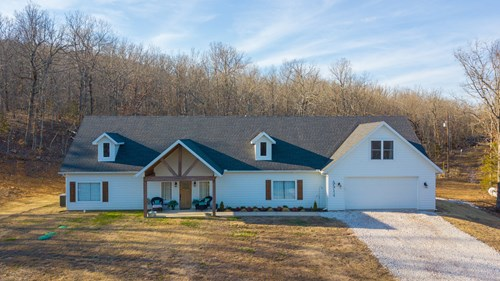 Country Home on Acreage For Sale Harrison Arkansas