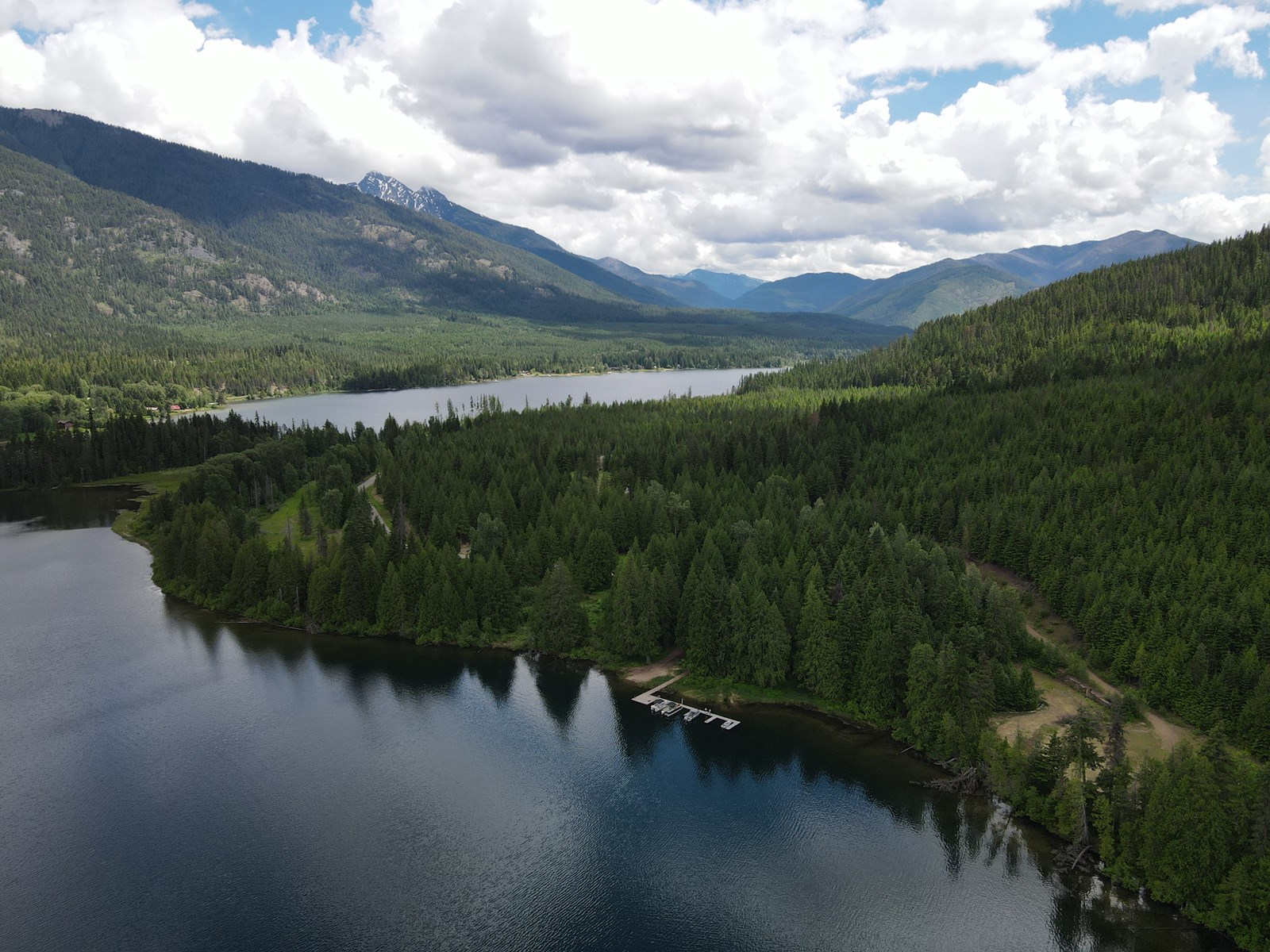 Lakefront Acreage in Northwest Montana