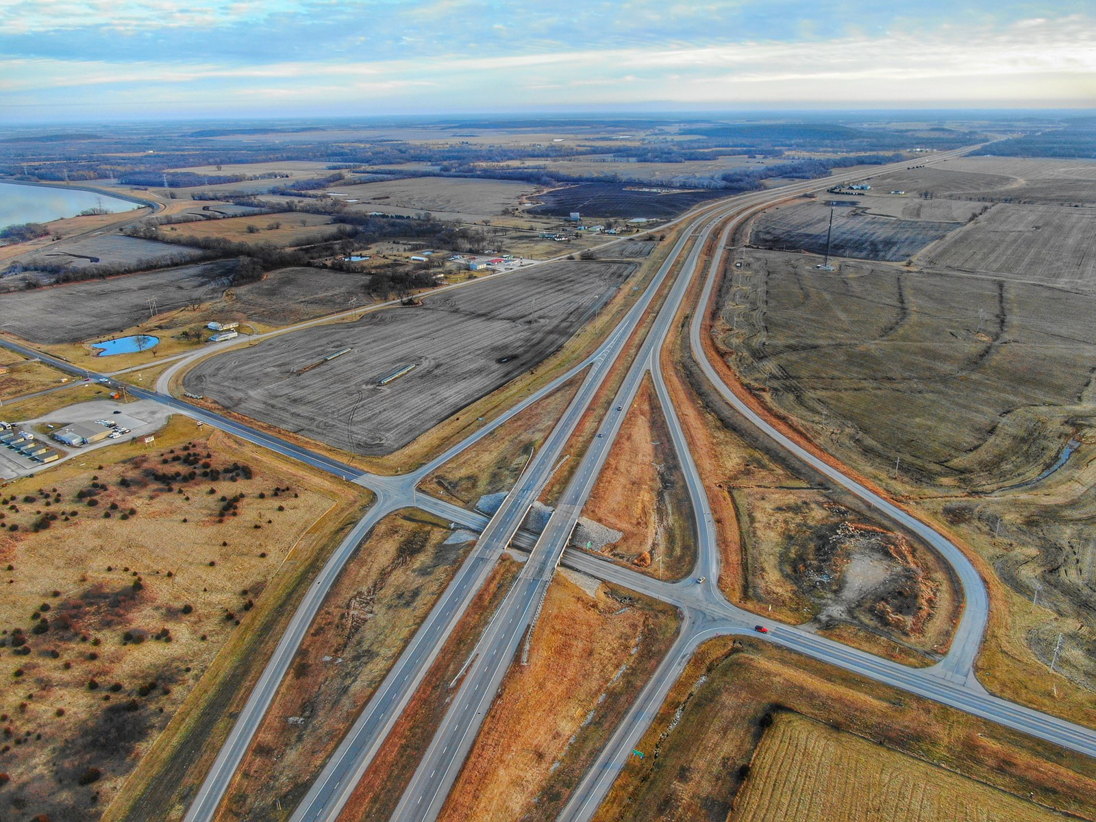 Prime Kansas Highway Commercial Development Land For Sale