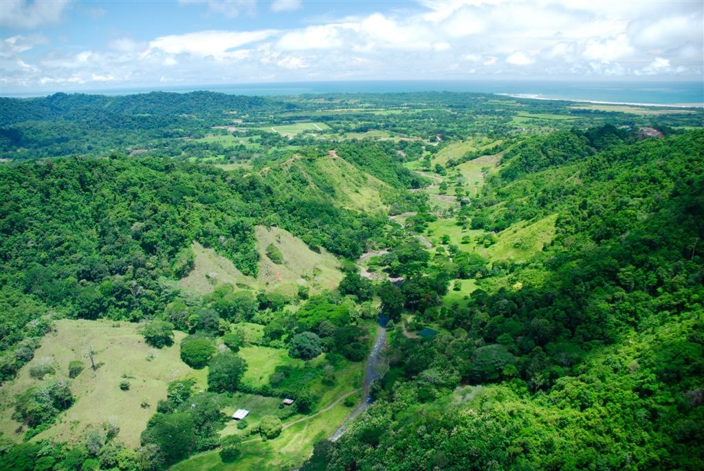 Costa Rica waterfront mountain ECO development Land for sale