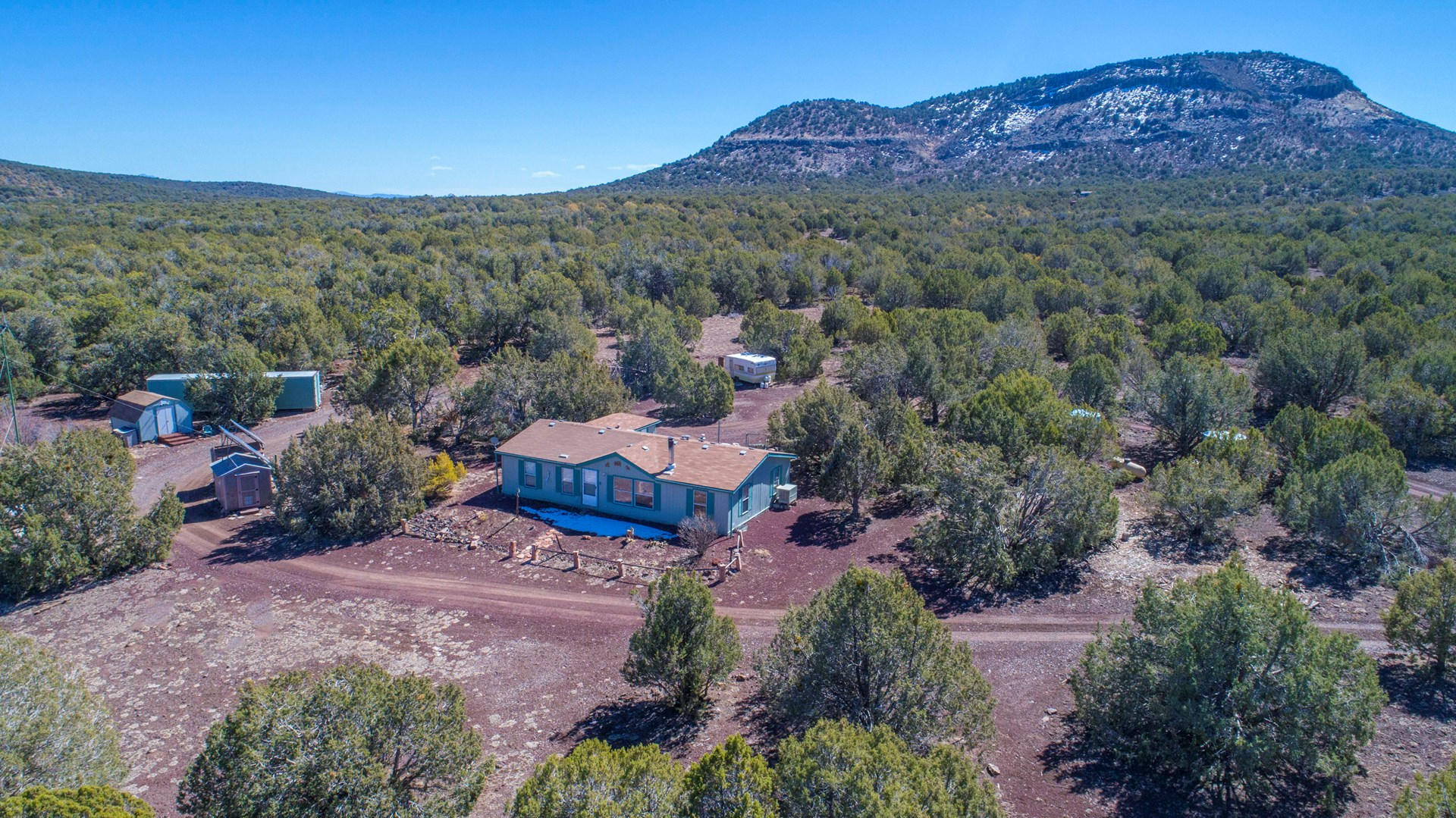 Mountain Home Near Hunting, Over 40 Acres, Coconino County