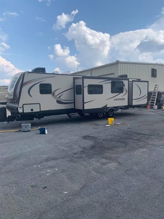 RV Lot with RV for Sale in Ellijay!