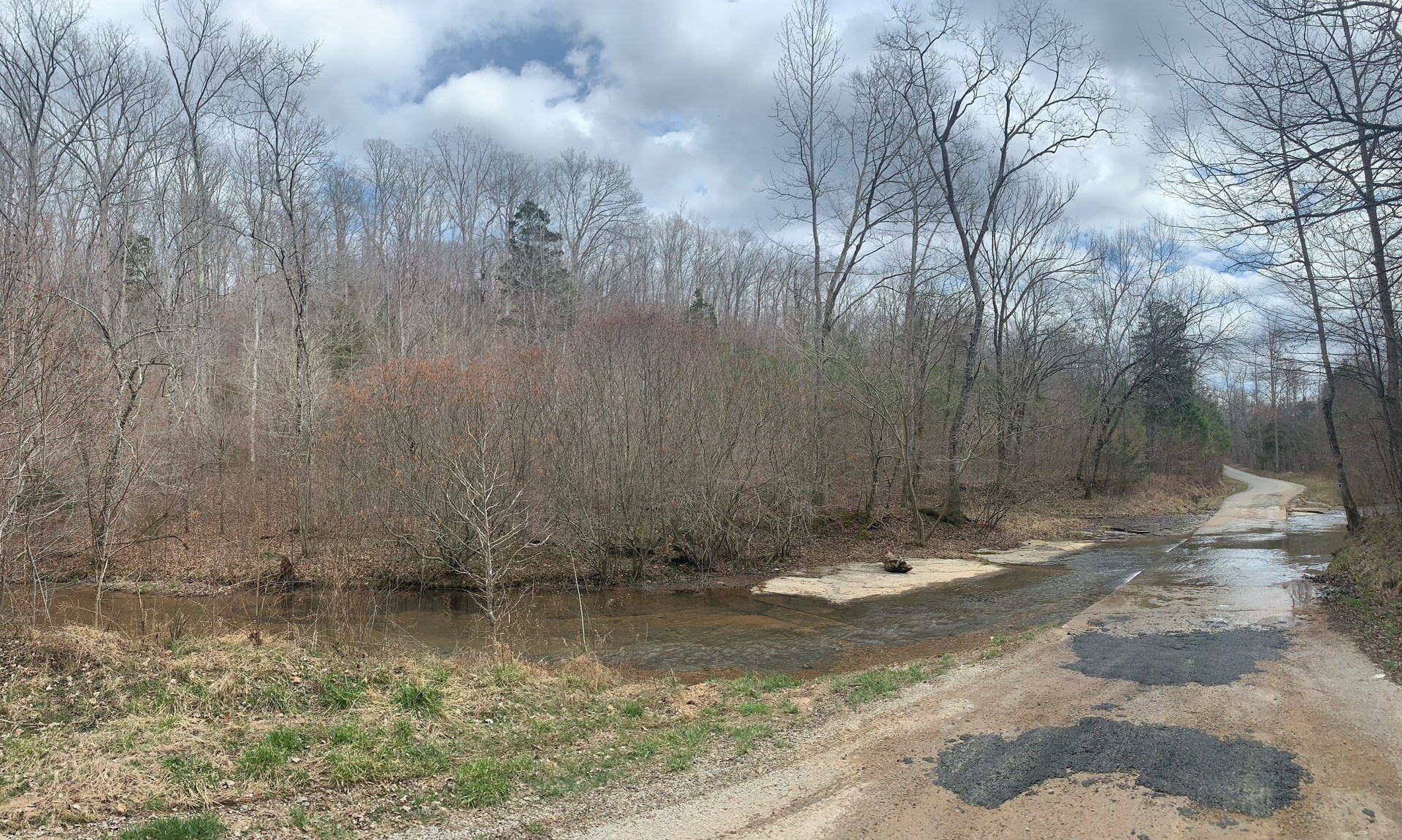 Acreage for Sale with Creek in Hohenwald, Tennessee