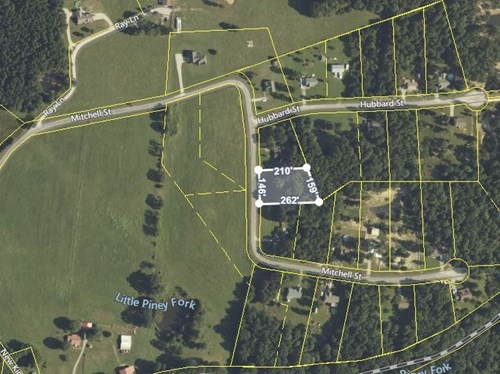 Lot for Sale in New Kimmins Estate in Hohenwald, Tennessee