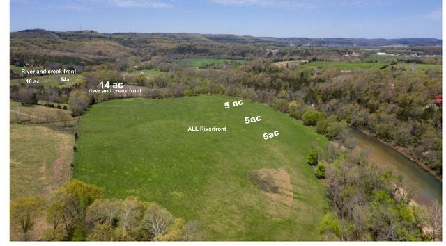 RIVER FRONT LAND IN EUREKA SPRINGS AR FOR SALE