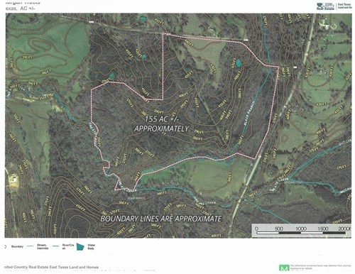 East Texas, Cherokee Co Recreational/Hunting Land For Sale