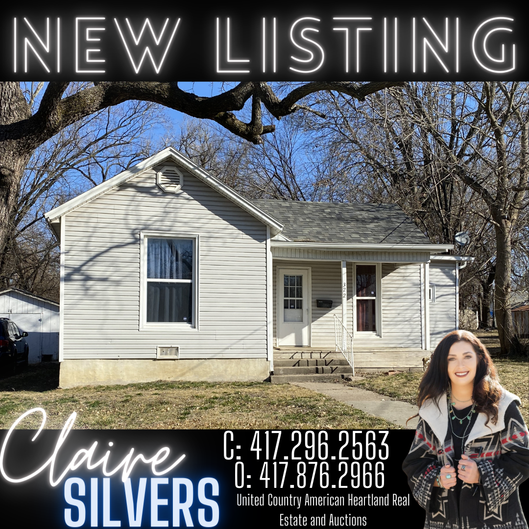 Nevada Missouri Home in Town, Rental Investment Property