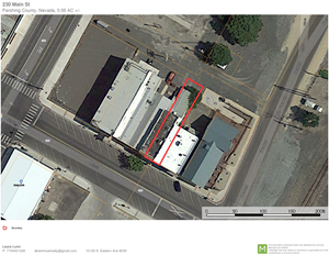 COMMERCIAL LAND FOR SALE DOWNTOWN LOVELOCK NEVADA