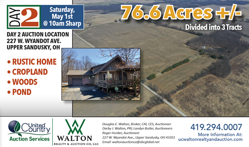 SHAW ESTATE AUCTION - Day #2 - May 1st @ 10am