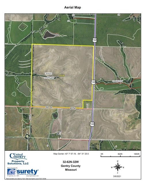 TRACT 3 OF 3 SEALED BID AUCTION - QUALITY GENTRY COUNTY FARM