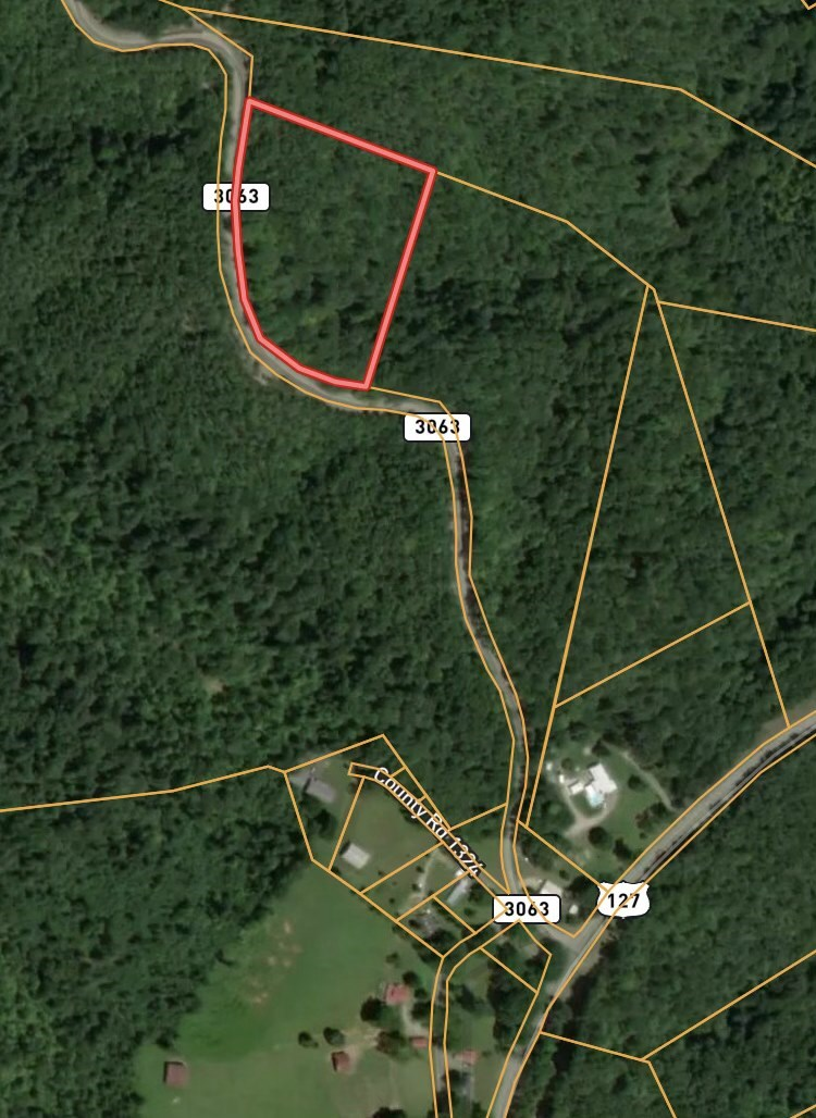 Secluded wooded tract in Albany, KY