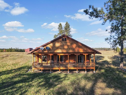 Clearwater County, ID Recreational Ranch & Log Home For Sale