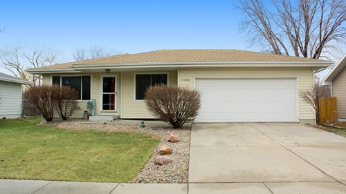 Ranch Style home in Lincoln under $200,000!