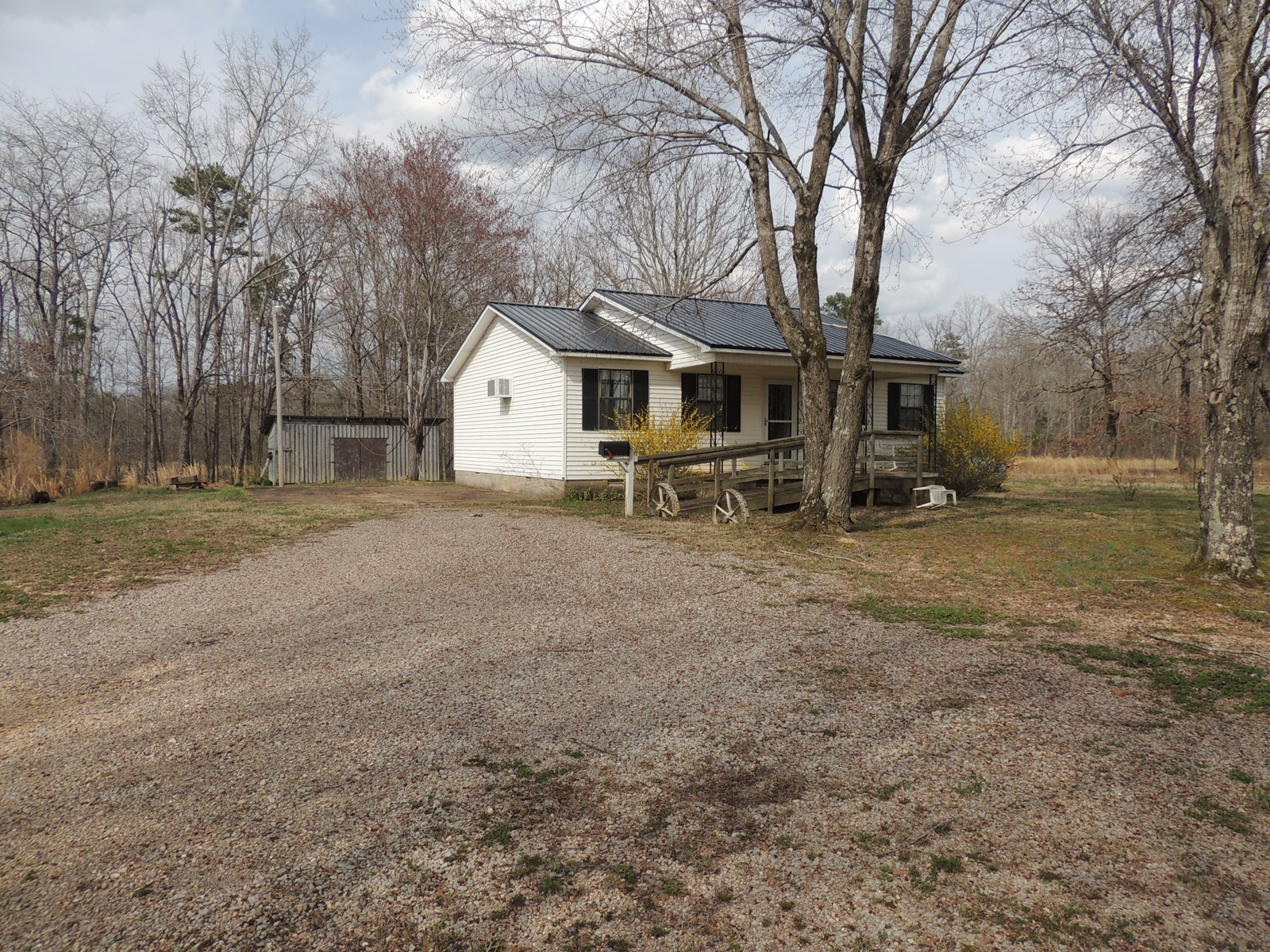 AFFORDABLE HOME FOR SALE WITH ACREAGE AND STORAGE