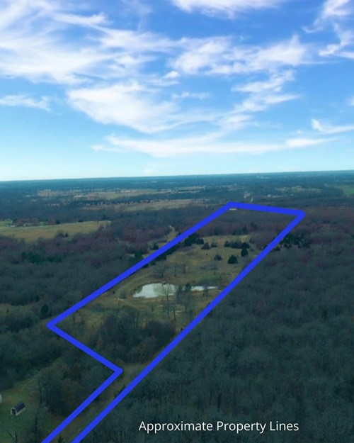 Secluded Acreage with Building Site