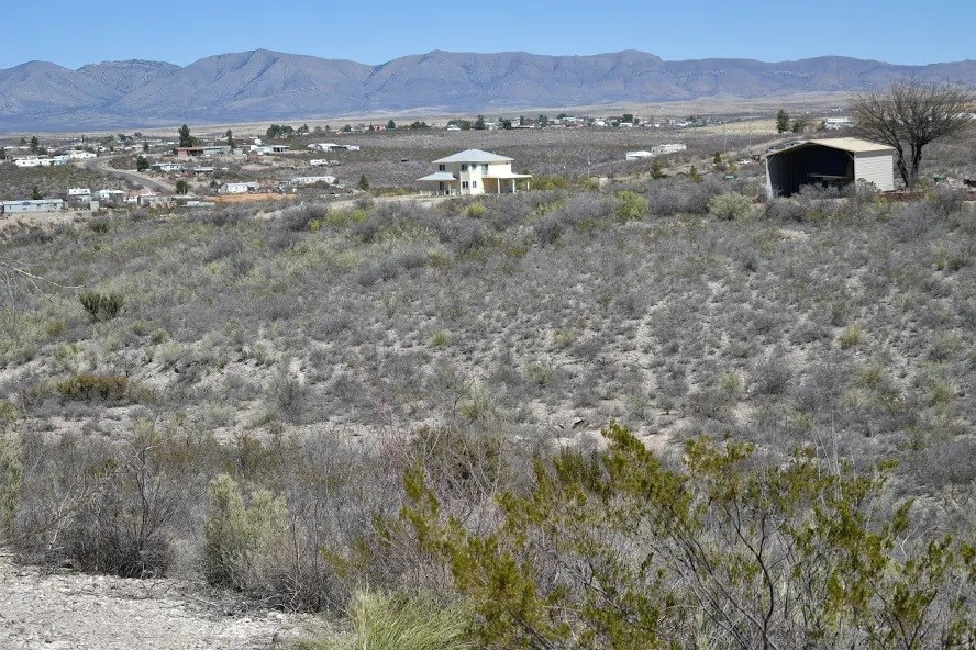 Scenic lot in historical Tombstone, Arizona.