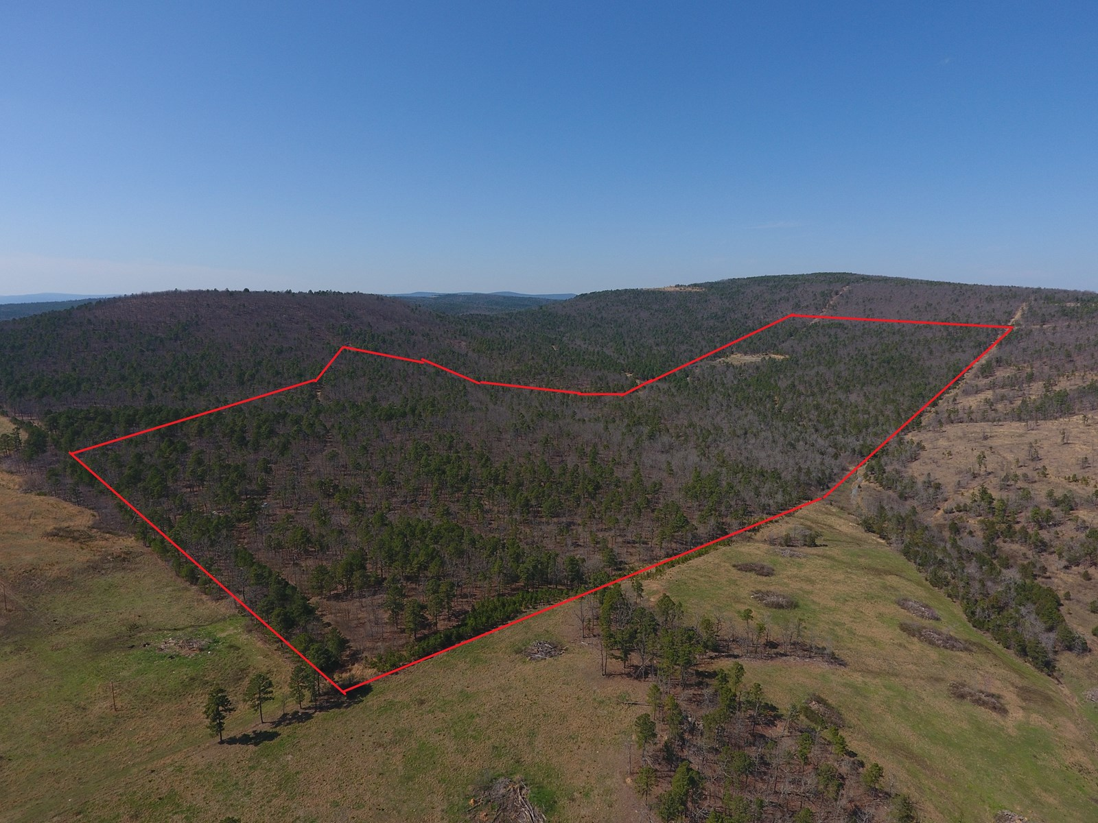 120 Acre Round Mountain Recreational Property