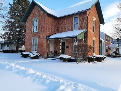 Brick Home For Sale in Upper Sandusky