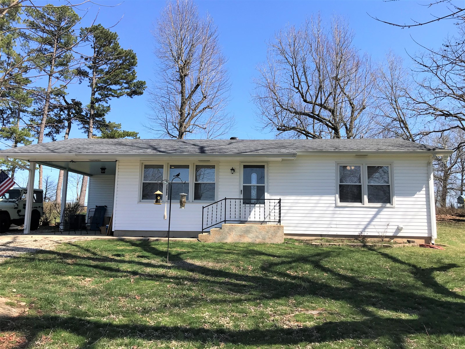 2 Bedroom home with country setting just outside city limits