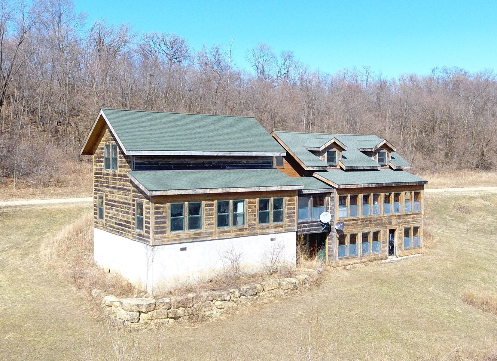 Log Cabin Country Home for sale in SW WI