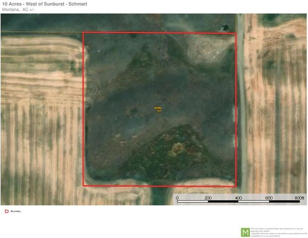 10 Acres of Land for Sale Sweet Grass, MT