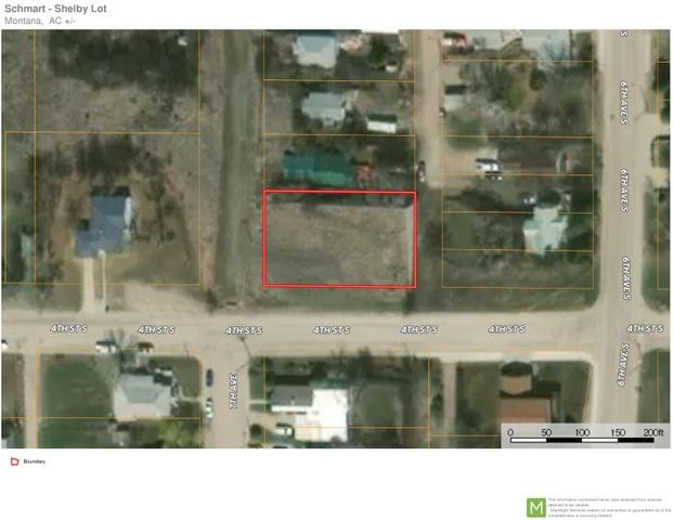 Residential Empty Lot for Sale in Shelby MT
