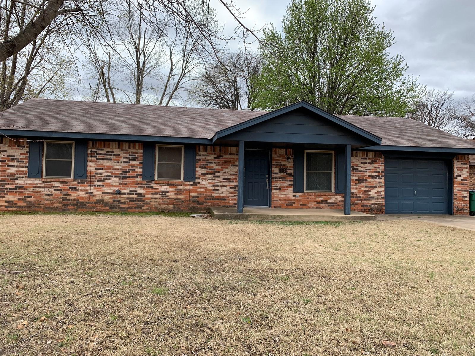 Perkins, Oklahoma Home for Sale