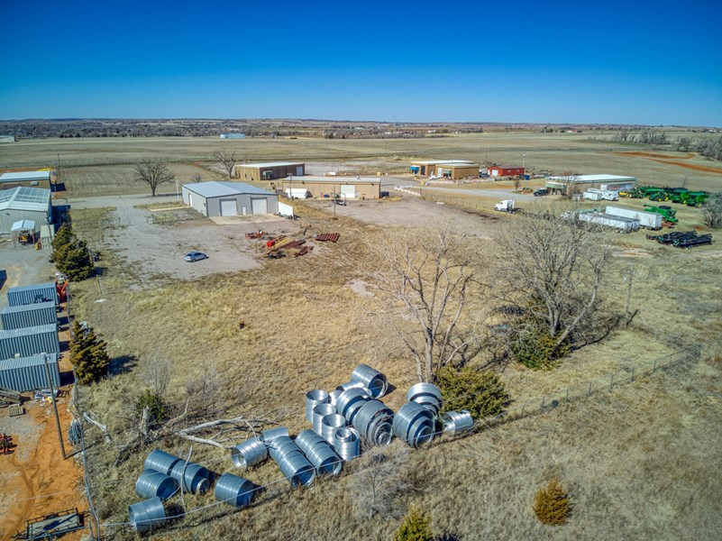 drone view of 2.25 acres
