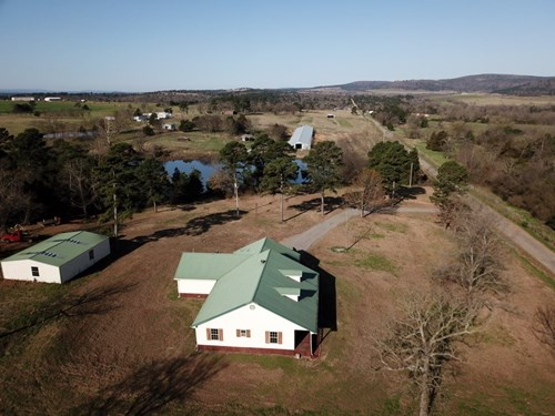 COUNTRY HOME FOR SALE ON 5 ACRES IN WISTER, OK