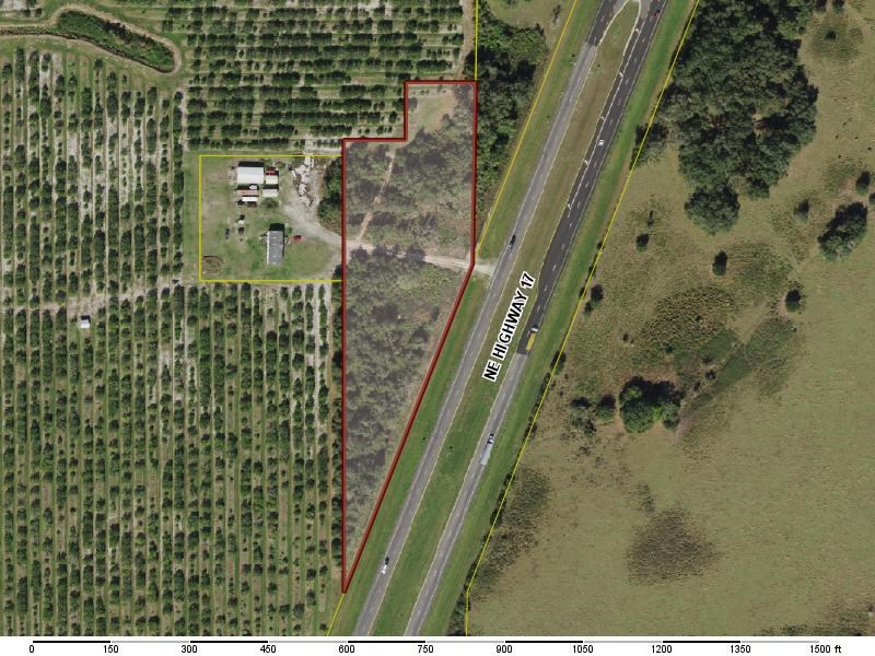 6+ acres with Highway 17 frontage in Arcadia, Florida!