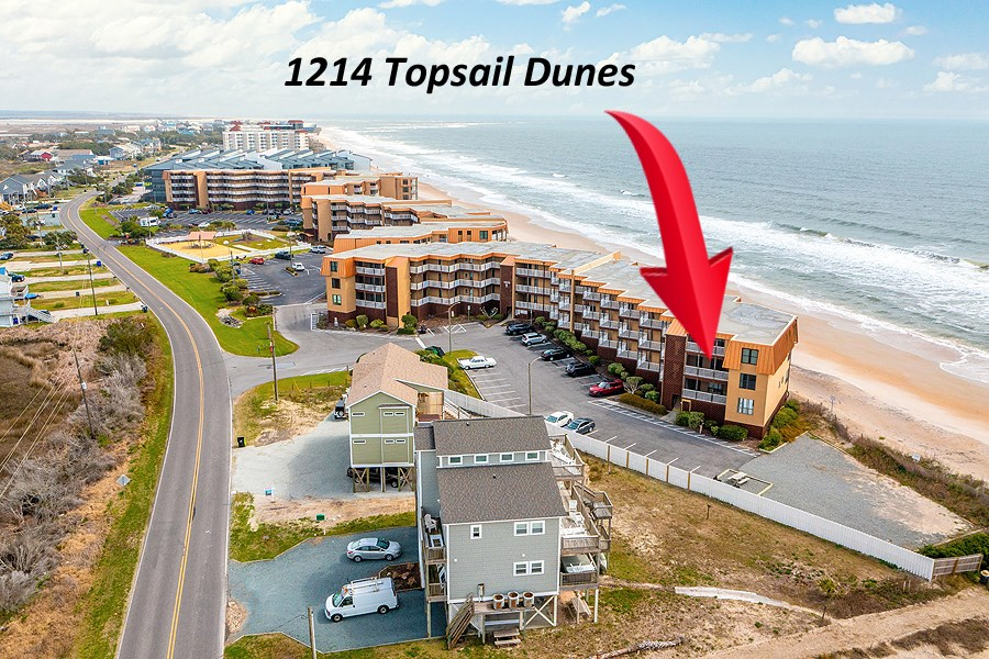 3BR Oceanfront Condo for Sale at Topsail Dunes