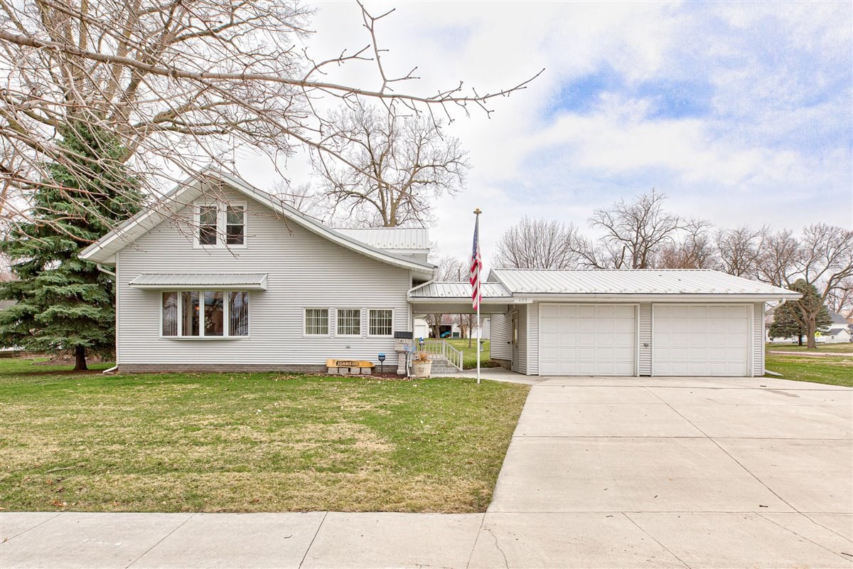 Original Woodwork, BR main level, For sale in Woodbine, IA