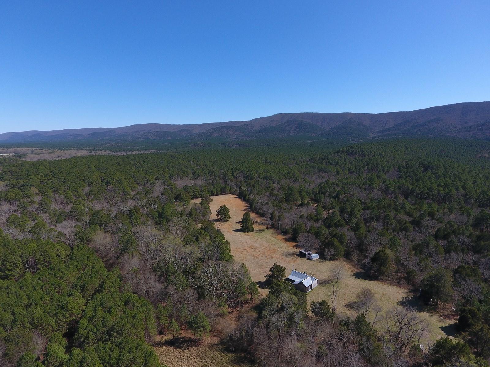 Kiamichi River Recreational Property Adj. National Forest