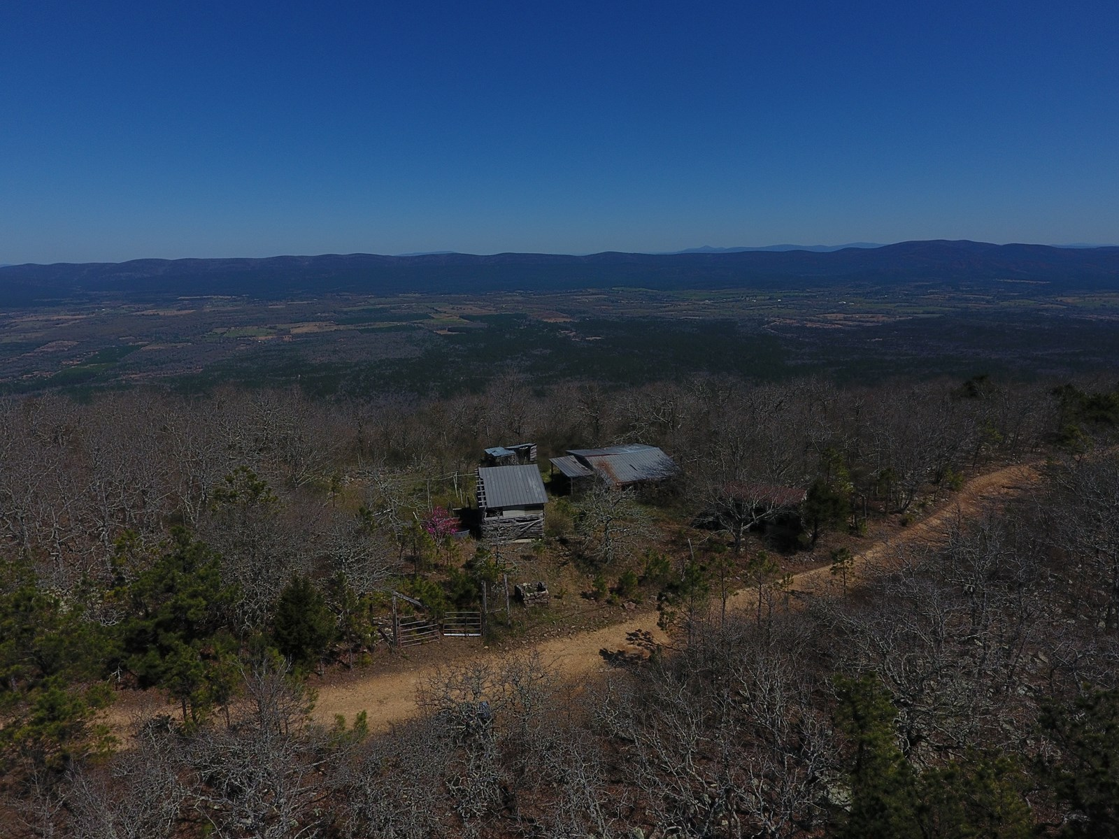 5 Acre Off-Grid Kiamichi Mountain Homestead