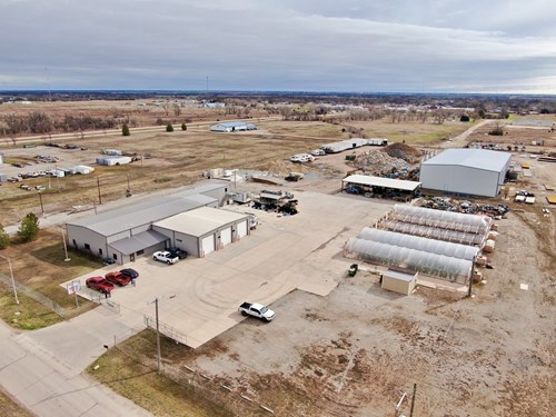 Oklahoma Commercial Marijuana Facility For Sale