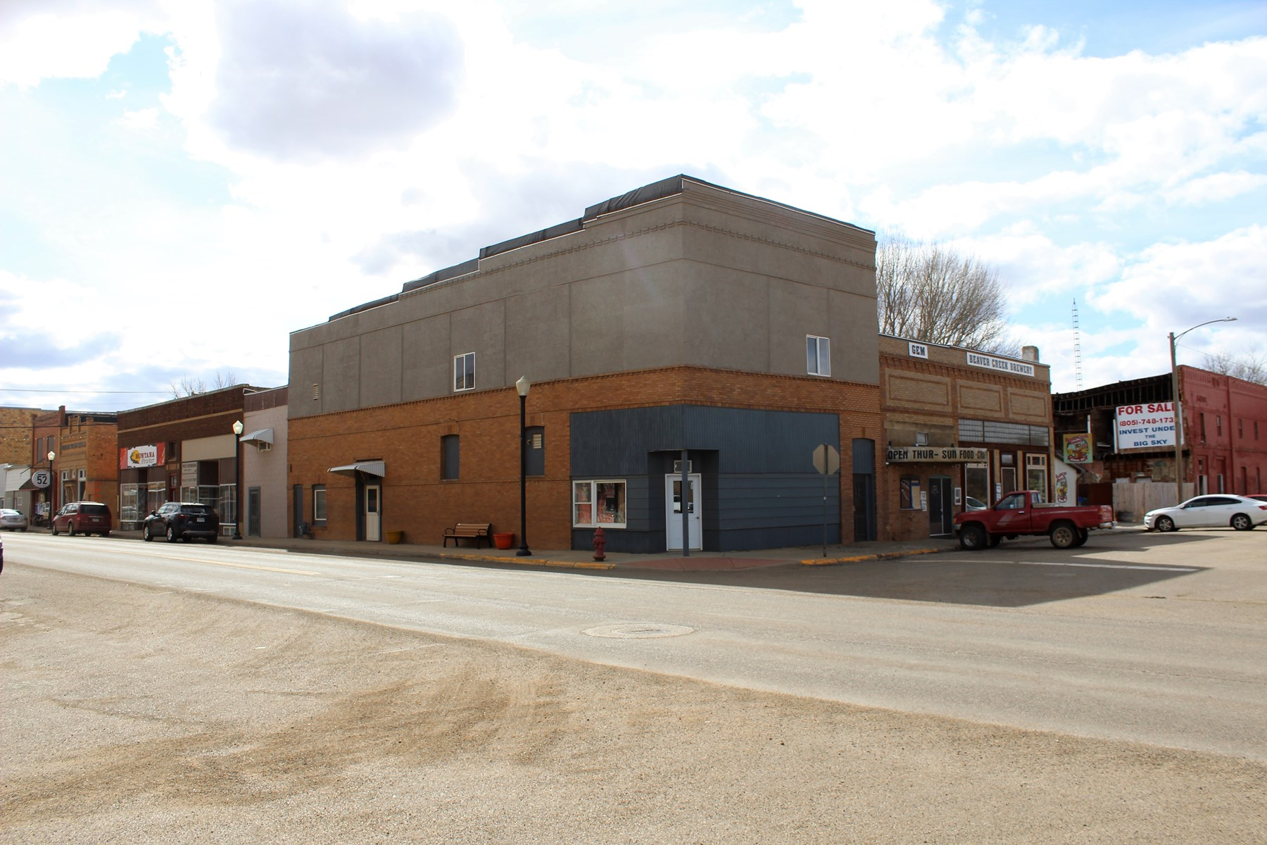 Multi Use Commercial Property in Downtown Wibaux