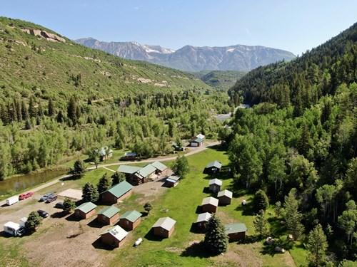 Colorado Mountain Riverfront Guest Ranch For Sale