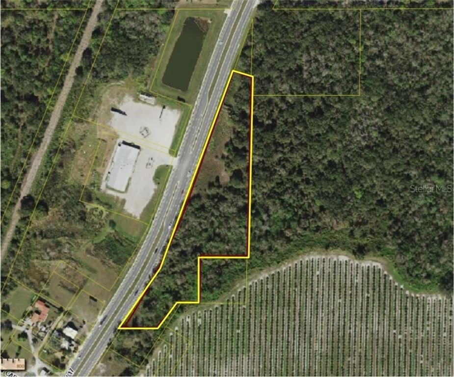 5 + Acres with Hwy 17 frontage in Arcadia, Florida