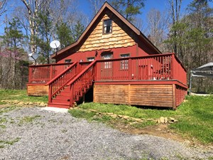 EAST TN CABIN IN THE WOODS FOR SALE
