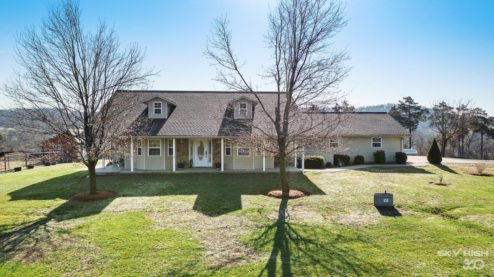 Country home with shop and 15 acres for sale in Washburn, MO