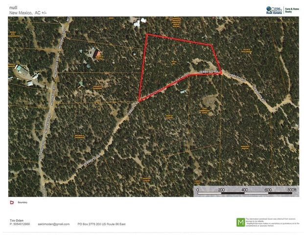 Edgewood New Mexico Mountain Property For Sale