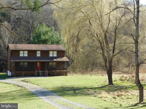 Mountain Log Home with Acreage
