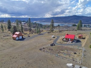 LAKE ROOSEVELT HOME ON 23 ACRES!
