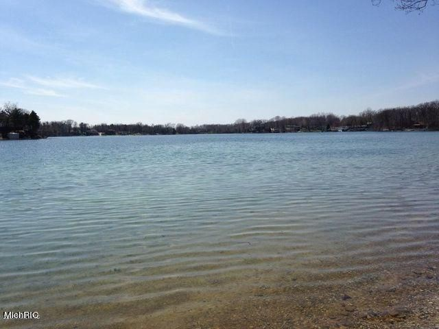 70′ of SANDY Beachfront on Pine Lake is waiting for you