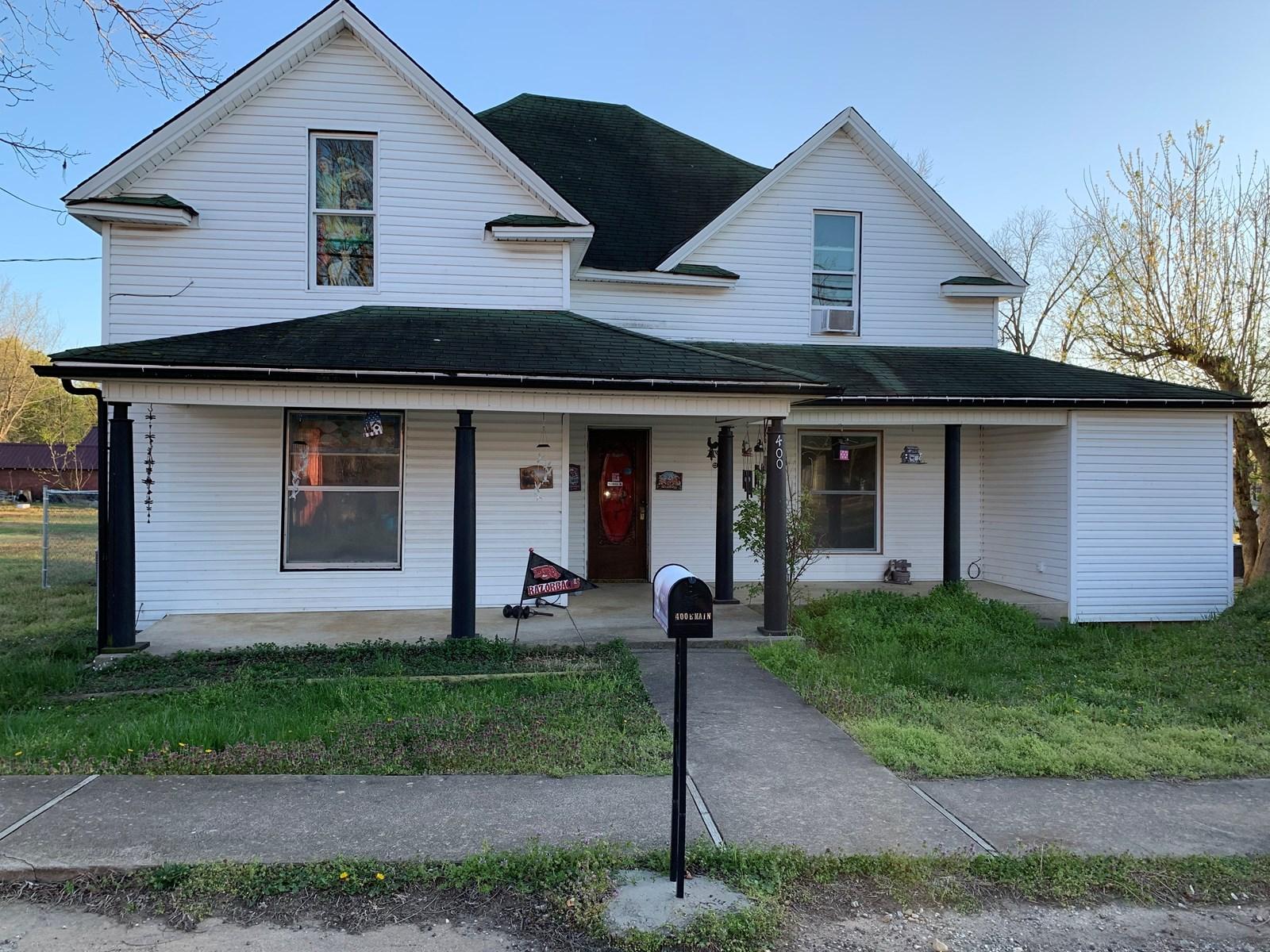 Historic Home For Sale in Marshall, Arkansas