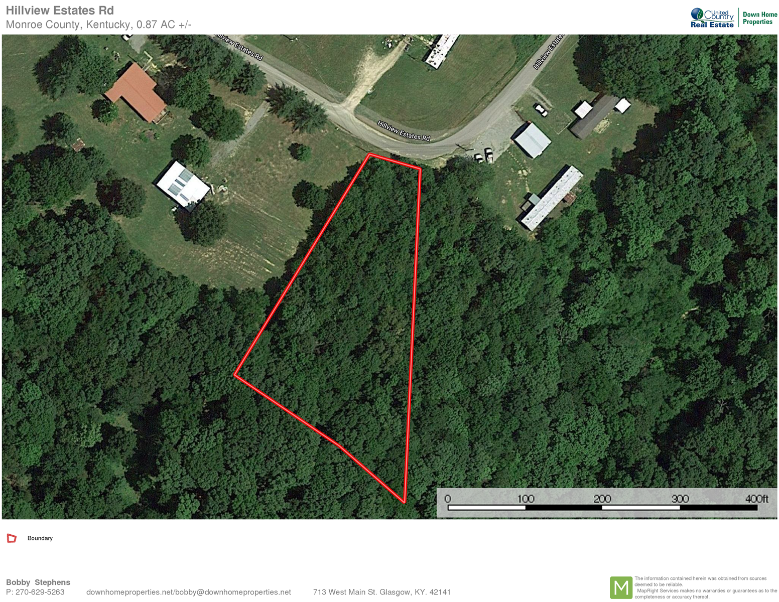 Hillview Estates Road 3/4 Acre