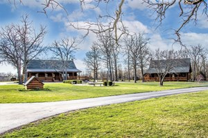 HAYES HAVEN RANCH, TWO BEAUTIFUL LOG HOMES ON 240 ACRES