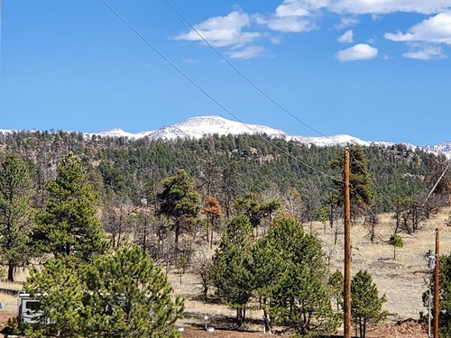 Central Colorado Mountain Lot -  Utilities on Property