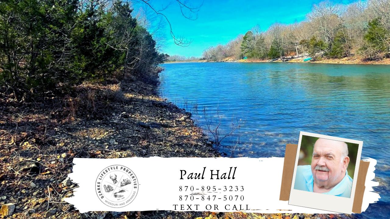 Wooded Lake Lots in Pioneer Park, Horseshoe Bend, AR!