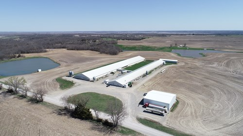 1,800 Sow-Wiener Pig Farm with Homes For Sale in Gilliam, MO